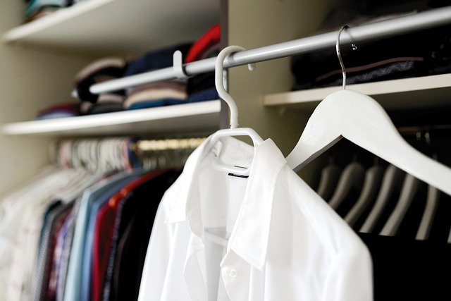 organizacja garderoby
