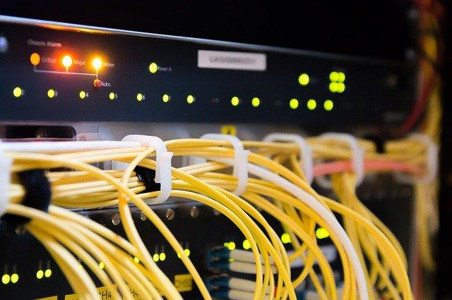 router do światłowodu
